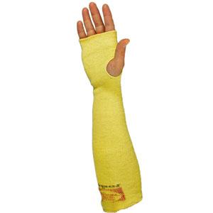 "Wells Lamont® SK-18H Yellow Kevlar Sleeve, 18"", Thumb HoleWells Lamont® SK-18H Yellow Kevlar Sleeve, 18"", Thumb"