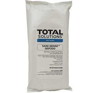 SANI-SENSE™ QSP200 Sanitizing Wipes Pack