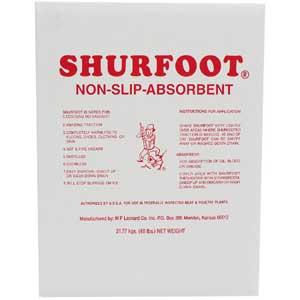 Shurfoot® Non-Slip Absorbent Powder Compound USDA Compliant