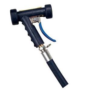 "M-70 Spray Trigger Nozzle Water Saver 3/4"" Hose Barb Swivel BlackM-70 Spray Trigger Nozzle Water Saver 3/4"" Hose"