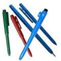Stick Pen, Black, Blue, Metal Detectable, 50 per