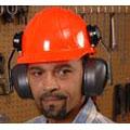 Earmuff, Cap Mount Over the Head, Noise Blocking, 28 dB