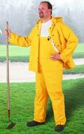 Onguard 76535 Rain Jacket, PVC, Yellow, Storm Flap