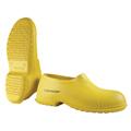 Dunlop® 88010 Plain Toe Overshoe, PVC, Pull-On, Yellow,